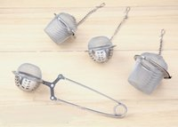 ball shape Tea Infuser bucket- Shaped 304#Stainless Tea strai...