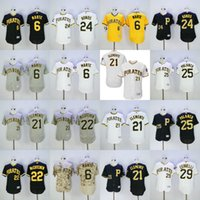 Pittsburgh Pirates Jersey Flexbase Starling Marte Willie Sta...