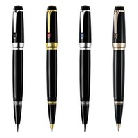 unique design black resin Roller ball pen   Fountain pen sch...