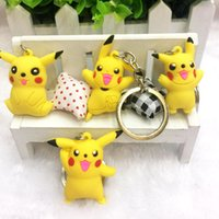 Hot Sale More Style 4cm Pikachu PVC Keychain Action Figure K...