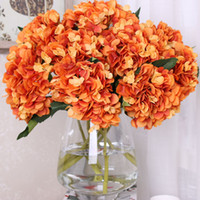 2017 Artificial Flowers Single Hydrangea Wedding Party Decor...