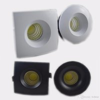3W Mini LED Downlights Round Square LED Under Cabinet Mini s...