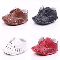 Infant Boys Girls Baby First Walkers PU Good Quality Baby Mo...