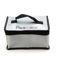 Nueva llegada Fireproof RC LiPo Battery Safety Bag Safe Guard Realacc Fire Lipo Battery Bag 220x155x115mm con mango