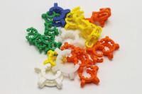 Pupular 10mm의 14mm에서 18mm 플라스틱 중사 클립 연구소 실험실 클램프 유리 봉을 살짝 도구를위한 플라스틱 잠금 유리 어댑터 클립