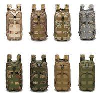 30L Sacos de esporte ao ar livre Militares mochilas táticas mochilas camping saco de trekking mochilas caminhadas travando ombros saco