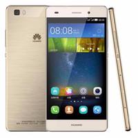 Orijinal Huawei P8 Lite 4G LTE Cep Telefonu Kirin 620 Octa Çekirdek 2 GB RAM 16 GB ROM Android 5.0 inç HD 13.0MP OTG Akıllı Cep Telefonu en ucuz