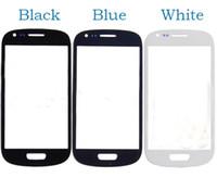 10pcs pièces de rechange 4 '' couverture de verre de lentille écran tactile avant pour Galaxy S3 Mini i8190 GT-i8190 pour Samsung SIII i8190