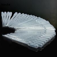 3 ML Tek Kullanımlık Plastik Pastör Mezunları, Damlalıklar Parfüm Kokusu Uçucu Yağ Numune Için Sıvı