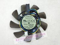 Original pour ASUS GTX460 HD6790 ventilateur de carte graphique ventilateur T129215SU 12V 0.50A
