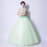 SSYFashion 2017 Summer Fresh Light Green Long Evening Dress ...