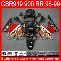 Body For HONDA CBR 919RR CBR900RR CBR919RR 98 99 CBR 900RR 6...