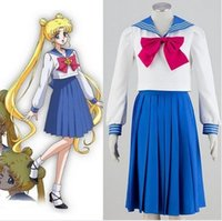Yaz Sailor Moon Kristal Tsukino Usagi Sailor Cıva Cosplay Kostüm
