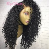 Glueless Full lace Human Hair Wig Curly Unprocessed Virgin B...