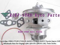 una cartuccia Twin Turbo CHRA Core CT12B 17208-46030 17208-46021 17201-46021 17201-46030 Per TOYOTA Supra 1993- 2JZ-GTE 2JZGTE 3.0L