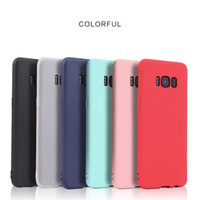 Candy Colors Phone Cases For Samsung Galaxy S8 S8 plus S6 S7...