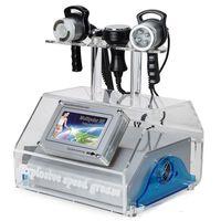 La nuova macchina professionale di cavitazione della liposuzione 5Heads / RF + BIO + cavitazione che dimagrisce macchina / ringiovanimento portatile ultrasonico della pelle Devi