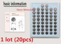20 stücke 1 los CR1220 3 V lithium li ion knopfzelle CR 1220 3 Volt li-ion münzbatterien tablett paket Freies Verschiffen
