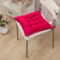 Четыре сезона общий шлифовальный стул или татами мат утолщение подушка из микрофибры сплошной цвет ткани красивая функция ягодицы 40 * 40 см
