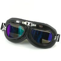 5 أنماط هارلي نظارات نظارات دراجة نارية دراجة نارية سكوتر الطيار تزلج خوذة نظارات السلامة نظارات عيون حامي