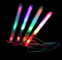 Großhandel - heißer Verkauf! Partyzubehör LED Blinklicht Zauberstab Neuheit Spielzeug, Leuchtstäbe, Kinderspielzeug