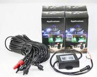"EMS 2x 8 포드 RGB LED 락 라이트 키트 3 ""9W 3LED 크리 칩 블루투스 컨트롤 음악 플래시 티밍 색상 변경 오프로드 SUV JEEP 요트 12V"