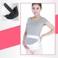 2 cores Mulher grávida Maternidade Cinto Respirável Gravidez Apoio Cintura Pós-parto Abdômen Cinto Cinto CCA7264 50 pcs