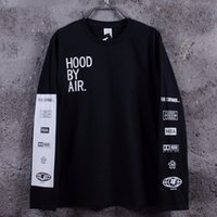 Cotton Mens Shirt Long Sleeve HoodbyAir Been Trill Hip Hop T...