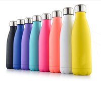 50pcs Cola Shaped Vacuum high- luminance Water Bottle 500ml C...