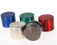 Nuovo SharpStone Grinder Alloy Herb Tobacco Grinder a base di erbe 4 pezzi Grinder Crusher Sigarette Machine Strainer All'interno DHL libero