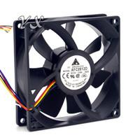 Jeux neufs et originaux de 9225 DC12V 0.46 A quatre fils AFC0912D avec ventilateur de refroidissement de vitesse pour Delta 92 * 92 * 25 mm