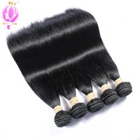 Top quality Brazilian Hair 5 Bundles Straight Human Hair Ext...