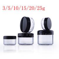 contenitore trasparente piccolo tondo trasparente in plastica vaso trasparente contenitore crema cosmetica balsamo Contenitore mini contenitore per campioni