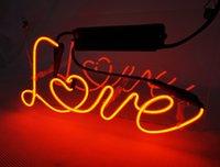 New High Life Neon Sign Beer Bar vrai signe en verre Neon Light Beer signe TN031-Love 11.8x6.3 001