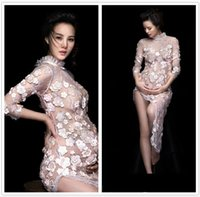 2017 New Photography Maternity Lace Dress Props Pphoto Shoot...