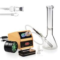 Reanice Nuevo Interruptor controlable Difusor de aromaterapia Ambientador de aire con chasis de madera (Plug EEUU estándar) + reciclador de agua de vidrio solamente