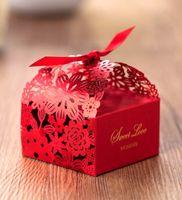 Hochzeitsbevorzugungen Geschenkboxen Pralinenschachtel Party Favors Hohl Hochzeitsbevorzugungen Pralinenschachteln Pralinenschachteln Tortenschachteln