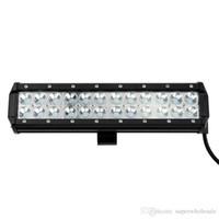12inch Spot Beam 24 * 3W Cree LED leuchtet bar 5040 Lumen Arbeitslicht für LKW Offroad SUV Jeep wasserdicht Nebelscheinwerfer Fahrlicht