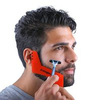Fashion Men Carding Tool Beard Shaping Tool Perfect Lines Sy...