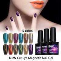 Modelones Long Lasting UV Nail Gel Polish Blue Magnetic Colo...