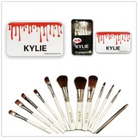 Hot Kylie Makeup Brush Set 12 pieces Professional Makeup Bru...