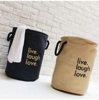 jute zakka boîte de rangement de bureau panier naturel boîte de rangement sac bref panier à linge sac de rangement en tissu panier de rangement écologique panier