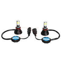DHL 배송 80W H11 COB 주도 자동차 전조 등 전구 Canbus 6000K 자동 DRL 안개 운전 램프 키트 모두 하나 하나