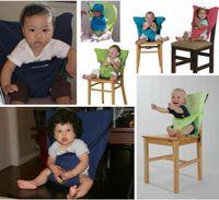 Sacos de bebé Asientos Trona portátil Correa para el hombro Cinturón de seguridad infantil Correa para asiento del asiento del niño Arnés Arnés para comedor Correa de asiento B1462