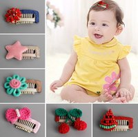 Brand new Children hair ornaments full hand bag baby hairpin...