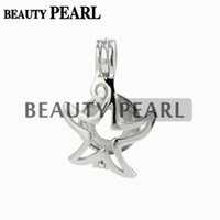 5 Pieces Star Wish Pearl Gift 925 Sterling Silver Sea Star C...