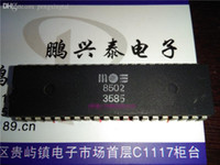 MOS8502. MOS. Dual In-line 40 Pin Dip Package Chip, MOS 8502 Vintage Microprocessor, PDIP40 Old CPU / Elektroniczny składnik / ICS