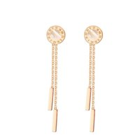 Wholesale Delicate Rose Gold Plated Stainless Steel earrings...