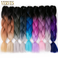 VERVES 24' ' Synthetic yaki straight 100g pcs ombre...