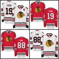 88 Patrick Kane Jersey Chicago Blackhawks Hockey Jerseys  19 Jonathan  Toews S-5XL All Stitched Free Shipping 34cbe19e5